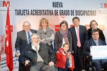 La nueva tarjeta de minusvalía en Madrid